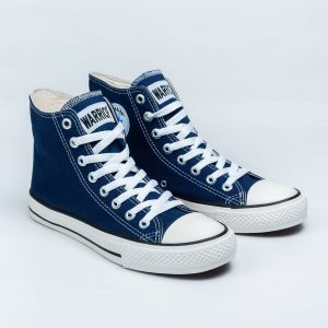 sepatu warrior sparta hc high navy