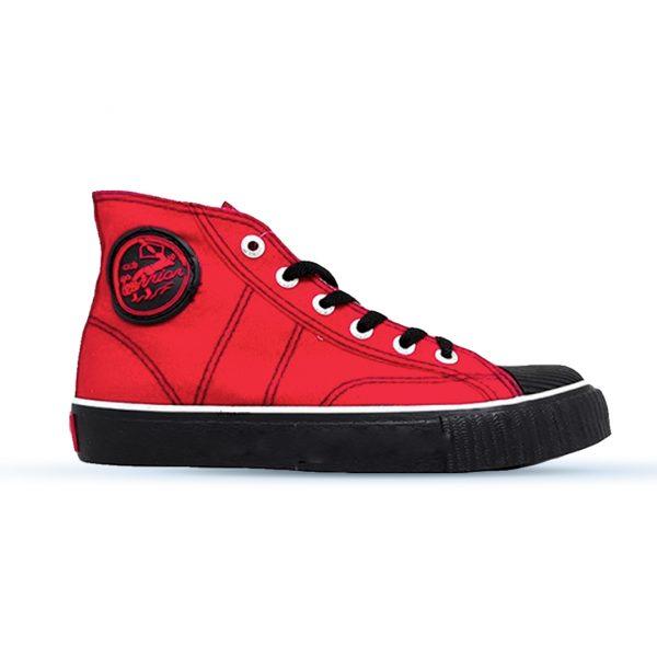 sepatu-warrior-classic-high-merah-hitam-hc-3