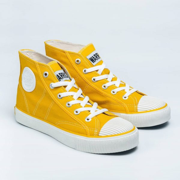 sepatu warrior classic sun flower kuning yellow 2