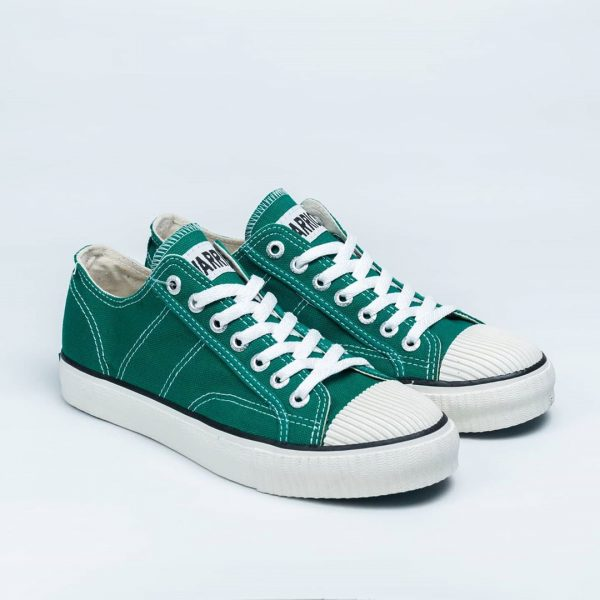 sepatu warrior classic lc low ijo green hijau