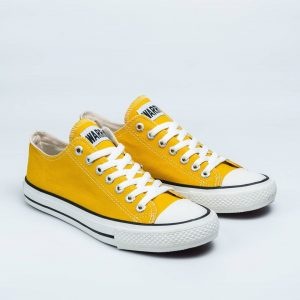 sepatu warrior sparta lc low pendek sun flower kuning yellow