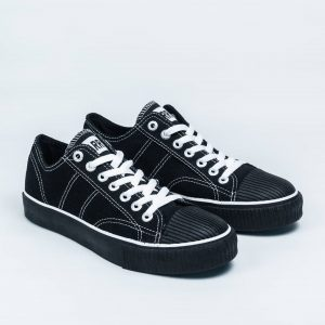 warrior-classic-Low-LC-hitam-black